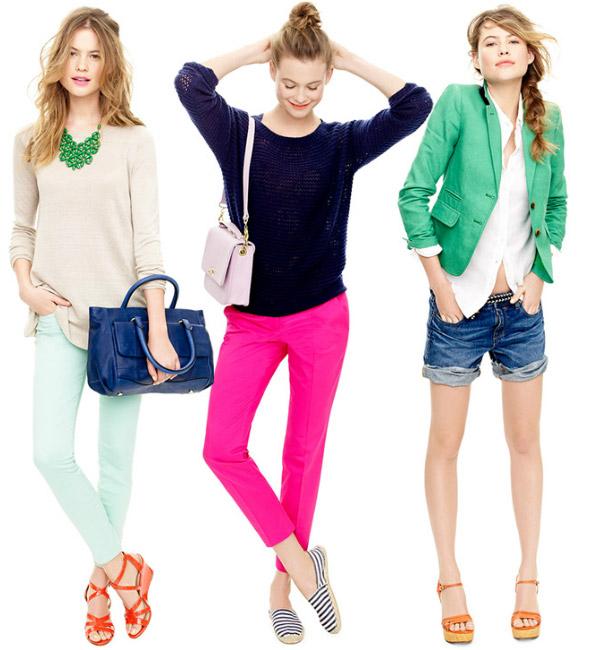 Spring & Summer 2012 Fashion Trends